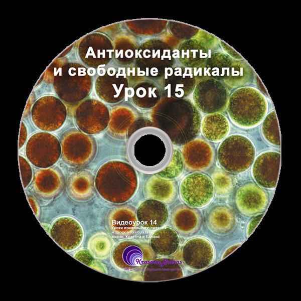 Антиоксиданты и свободные радикалы. Урок 15_3