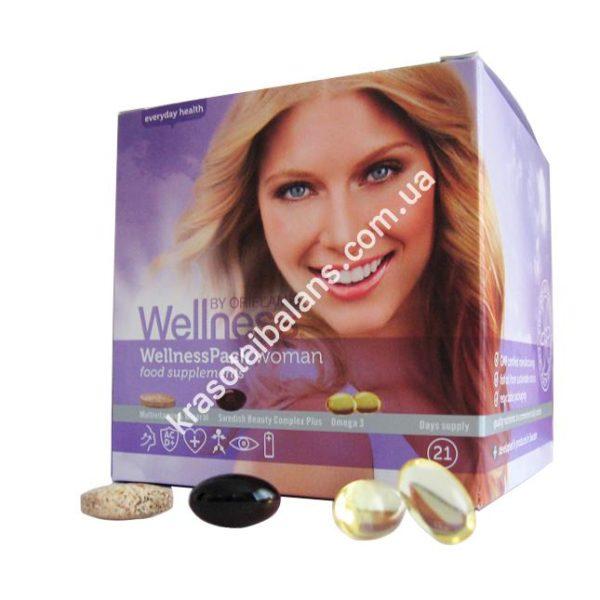Витаминно-минеральный комплекс для женщин - Вэлнэс Пэк_4