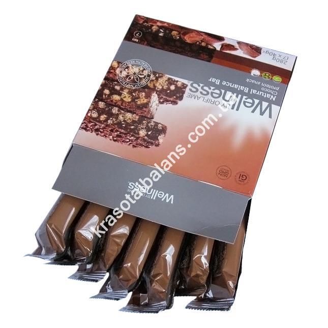 Протеиновые батончики «Natural Balance» Шоколад_4