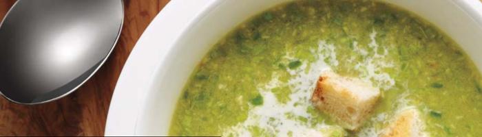 Зеленый спаржевый суп