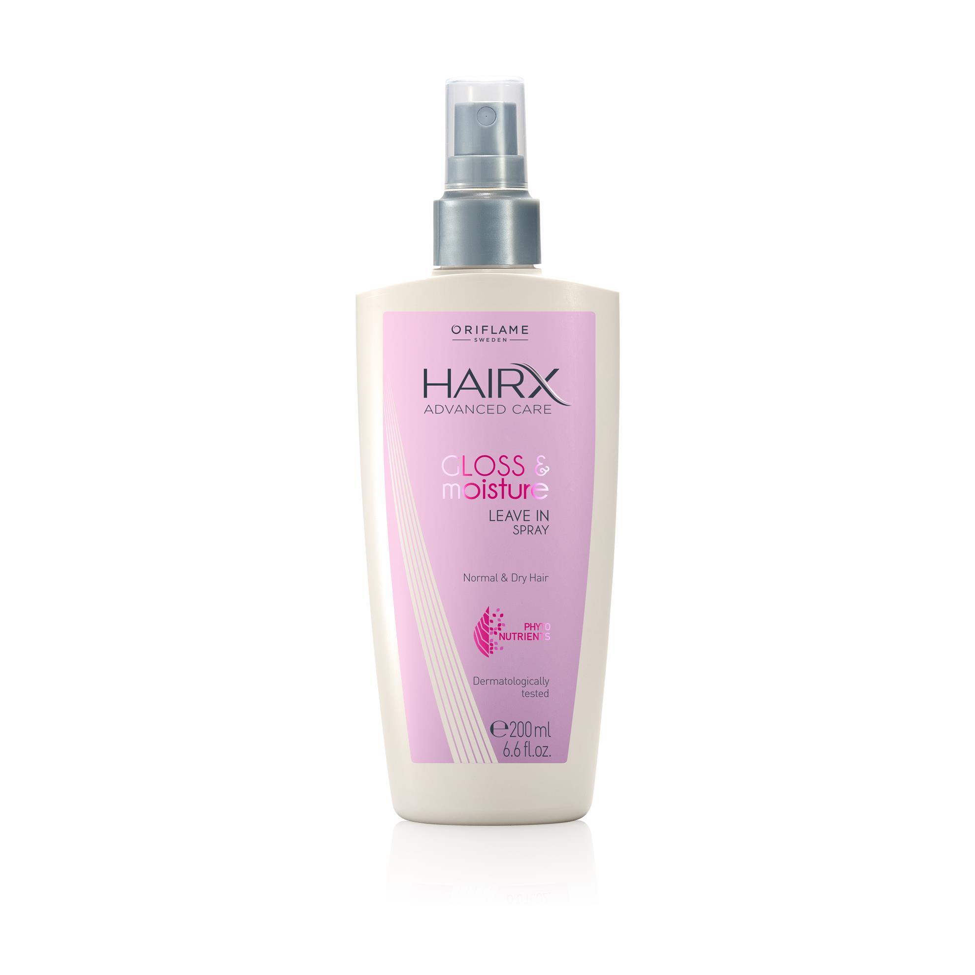 Увлажняющий спрей для блеска волос HairX