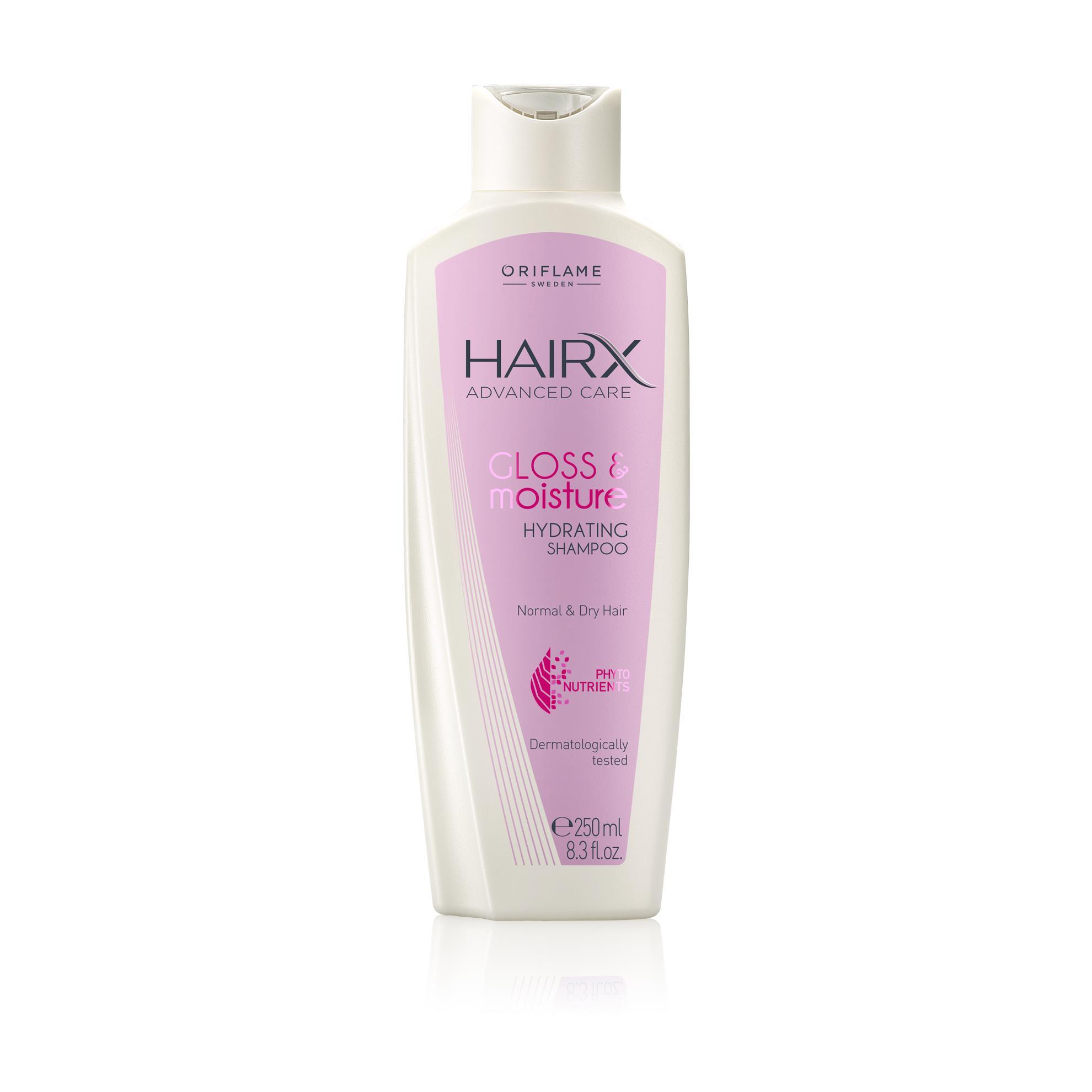 Увлажняющий шампунь для блеска волос HairX