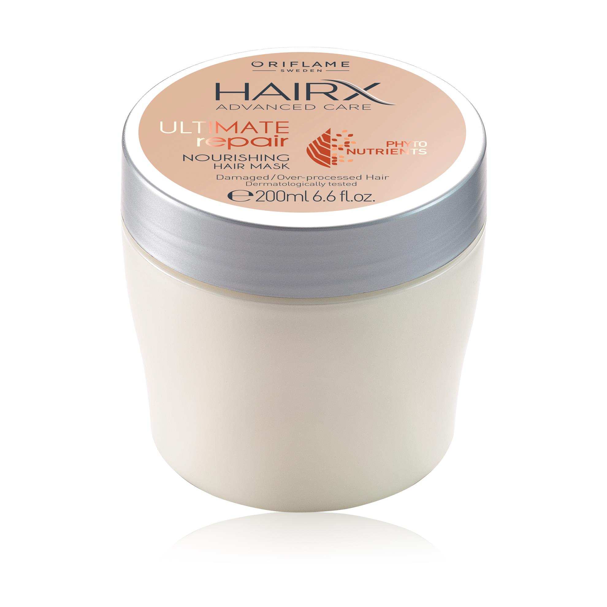Восстанавливающая маска для сухих и поврежденных волос HairX