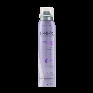 Сухой шампунь для придания объема тонким волосам HairX