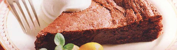 Низкокалорийный шоколадный пирог