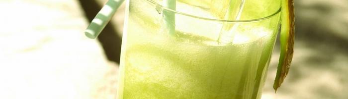 Коктейль из дыни и банана