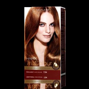 Стойкая краска для волос «Цвет-Эксперт» Золотистый каштановый