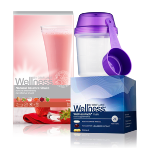 Wellness Life+ Клубника. Энергия для мужчин