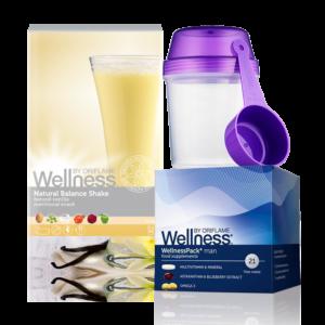 Wellness Life+ Ваниль. Энергия для мужчин