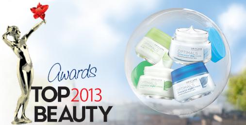 Серия Optimals получила награду TopBeauty Awards 2013