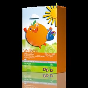 Мультивитамины и минералы для детей