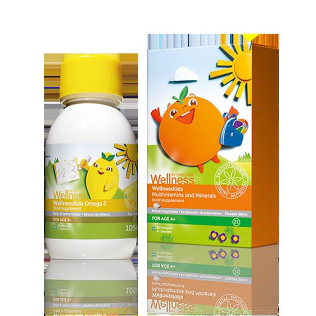 Комплект «WellnessKids» для детей
