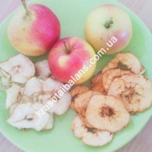 Яблоко сушеное 80 грамм. Чипсы_1