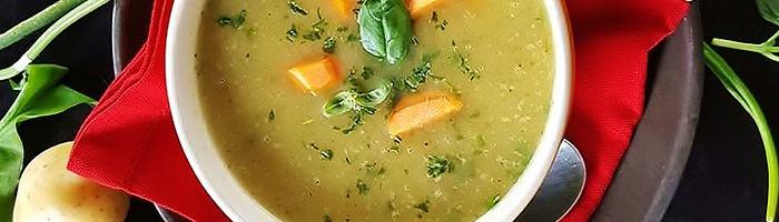 Суп спаржевый с запеченной тыквой. Рецепт на Красота и Баланс