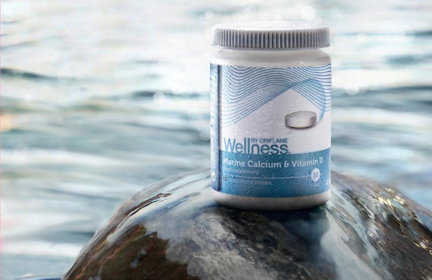 Запатентованный комплекс Aquamin: Кальций, Витамин D и более 70 дополнительных микроэлемента для почти 100% усвояемости Кальция. Красота и Баланс