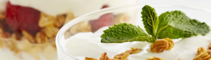 Парфе с греческим йогуртом. Рецепт приготовления. Красота и Баланс