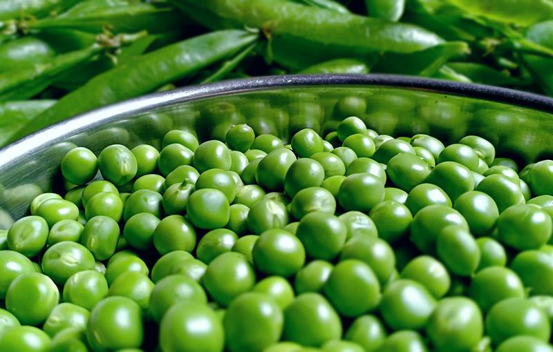 Самое полезное содержит зеленый горошек