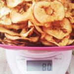 Яблоко сушеное 80 грамм. Чипсы