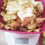 Груша сушеная 80 грамм. Чипсы