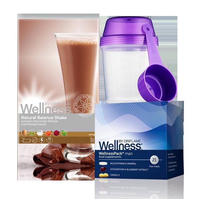 Wellness Life+ Шоколад. Энергия для мужчин. Красота и Баланс