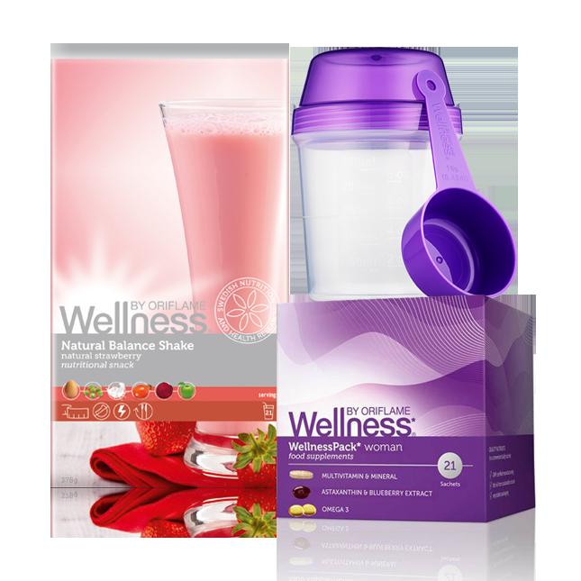 Wellness Life+ Клубника. Энергия для женщин. Красота и Баланс