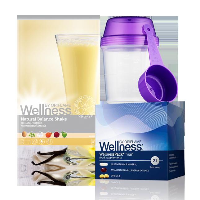 Wellness Life+ Ваниль. Энергия для мужчин. Красота и Баланс